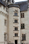 Castle of Montsoreau in Loire Valley , France — Stock fotografie
