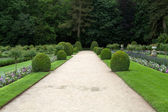 Gardens at Chateau Chenonceau — Photo