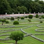 Gardens at Chateau Chenonceau — Foto de Stock   #42740215