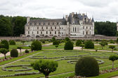 Garden and Castle of Chenonceau. — 图库照片