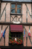 Half-timbered house in Tours, Loire Valley, France — Stok fotoğraf