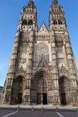 Gothic cathedral of Saint Gatien in Tours, Loire Valley  France — Stock Photo