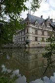 Castillo de azay-le-rideau en el valle del loira, francia — Foto de Stock