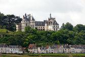 Chaumont-sur-Loire castle.  Chaumont castle  is one of the oldest chateaux of Loire. — Stock Photo