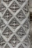 Floriated Column at the entrance Blois Castle in Val-de Loire, France — Stock Photo