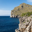 Torrent de Pareis - Sa Calobra bay in Majorca Spain — Stock Photo #44063853