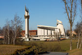 Cracow , Lagiewniki - The Divine Mercy Sanctuary — Stock Photo