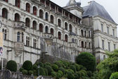 Renaissance facade at the castle of Blois. LoireValley, France — Stock Photo