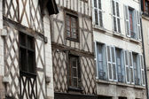 Half-timbered house in Blois, Loire Valley, Franc — Stock Photo