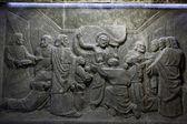 克拉科夫,lagiewniki-中心的教皇约翰-保罗二世. — 图库照片
