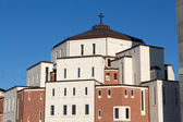 Cracow , Lagiewniki - The Centre of Pope John Paul II. — Stock Photo