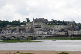 Amboise castle .Valley of the river Loire. France — Stock Photo