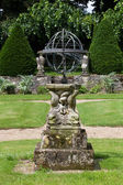 Garden and chateau La Chatonniere near Villandry. Loire Valley — Stock Photo