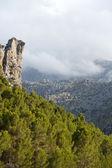 Serra de Tramuntana - mountains on Mallorca, Spain — Stock Photo