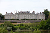 Chateau de Menars is a chateau associated with Madame de Pompadour. Loire Valley, France — Stock Photo