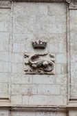 The Salamander, Emblem of François I . Castle of Blois. Loire valley, France — Photo