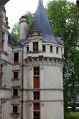 Château d'azay-le-rideau dans la vallée de la loire, france — Photo