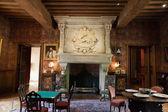 Inredning i slottet av azay-le-rideau. loiredalen, frankrike — Stockfoto