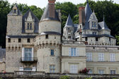 Castel of Rigny-Usse   Known as the Sleeping Beauty Castle and built in the eleventh century. Loire Valley, France — Stock Photo