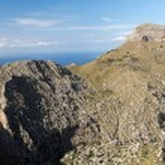 Serra de Tramuntana - mountains on Mallorca, Spain — Stock Photo #47674815
