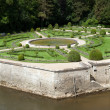 Gardens at Chateau Chenonceau — Stock Photo #47708505