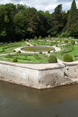 Gardens at Chateau Chenonceau — Stockfoto
