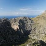 Serra de Tramuntana - mountains on Mallorca, Spain — Stock Photo #48709375