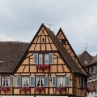 Timbered houses in the village of Eguisheim in Alsace, France — Stock Photo #49115319