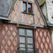Half-timbered house in Chinon, Vienne Valley, France — Stock Photo #49150999