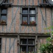 Half-timbered house in Chinon, Vienne Valley, France — Stock Photo #49151577