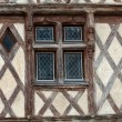 Half-timbered house in Chinon, Vienne Valley, France — Stock Photo #49152095