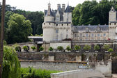 Castel of Rigny-Usse   Known as the Sleeping Beauty Castle and built in the eleventh century. Loire Valley — Stock Photo
