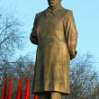 Monument Stalin - Stock Photo