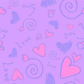 Vector de fondo transparente amor — Vector de stock
