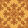 Stok Vektör: Cross stitch ornament seamless background