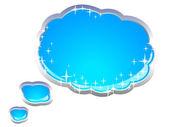 Speech And Thought Bubbles — Cтоковый вектор