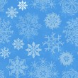 Seamless winter background — Stock Vector