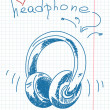 Stock Vector: Headphone