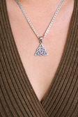 Celtic jewelry — Stock Photo