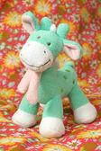 Soft toy giraffe — Stock Photo
