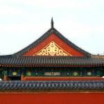 Roof in the Temple of Heaven in Beijing — Stock Photo #44585491