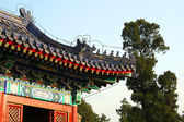 Roof in the Temple of Heaven in Beijing. — Stock Photo