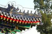Roof in the Temple of Heaven in Beijing. — Stock Photo