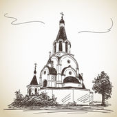 Russian Orthodox Church — Stockvector
