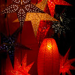 Christmas stars decoration — Stock Photo #1892633