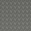 Corrugated Metal Surface with Diamond Plate Texture — ストック写真