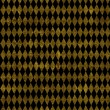 Black and Gold Harlequin Background — ストック写真