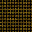 Black and Gold Harlequin Background — Stock Photo