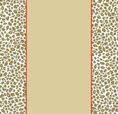 Animal Print Border — Stock Photo