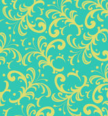 Background of  Floral Spiky Swirls — Stock Photo